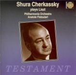 LISZT - Cherkassky - Concerto pour piano et orchestre n°1 en mi bémol ma