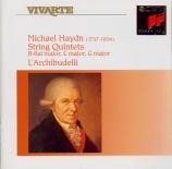 HAYDN - Archibudelli - Quintette à cordes en si bémol majeur P.105