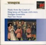 Musique à la Cour du Roi Janus à Nicosie