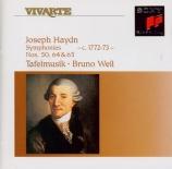 HAYDN - Weil - Symphonie n°50 en si bémol majeur Hob.I:50