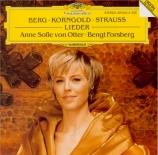 BERG - Von Otter - Sieben frühe Lieder