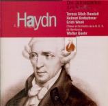 HAYDN - Goehr - Die Jahreszeiten (Les saisons), oratorio pour solistes