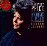 BRAHMS - Price - Meerfahrt (Heine), mélodie pour une voix et piano op.96