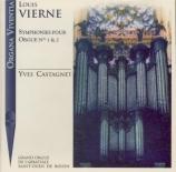 VIERNE - Castagnet - Symphonie pour orgue n°1 en ré mineur op.14