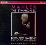 MAHLER - Haitink - Symphonies (intégrale)