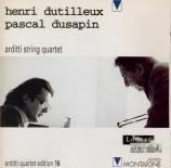 DUSAPIN - Arditti String - Time Zones Quatuor II