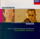 WEBERN - Chailly - Im Sommerwind
