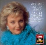STRAUSS - Popp - Acht Gedichte, pour voix et piano op.10