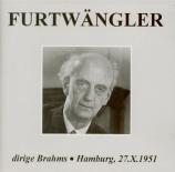 Furtwängler dirige Brahms, Hambourg 27.X.1951