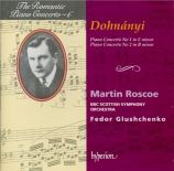 DOHNANYI - Roscoe - Concerto pour piano n°1 op.5