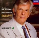 MAHLER - Dohnanyi - Symphonie n°4