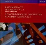 RACHMANINOV - Ashkenazy - Symphonie n°2 en mi mineur op.27
