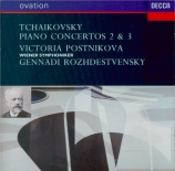 TCHAIKOVSKY - Postnikova - Concerto pour piano n°2 en sol majeur op.44