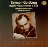 MOZART - Goldberg - Concerto pour violon et orchestre n°3 en sol majeur