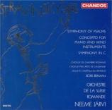 STRAVINSKY - Järvi - Symphonie de psaumes, pour chœur et orchestre
