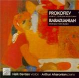 PROKOFIEV - Davtian - Sonate pour violon et piano n°1 en fa mineur op.80