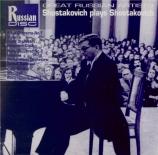CHOSTAKOVITCH - Rostropovich - Sonate pour violoncelle et piano op.40