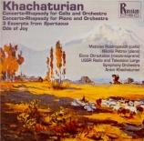 KHATCHATURIAN - Khatchaturian - Spartacus : extraits