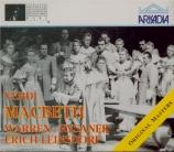 VERDI - Leinsdorf - Macbeth, opéra en quatre actes (version italienne) live MET 21 - 2 - 59