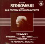STRAVINSKY - Stokowski - Petrouchka, ballet burlesque pour orchestre en