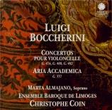 BOCCHERINI - Coin - Concerto pour violoncelle et orchestre n°7 en sol ma