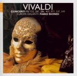 VIVALDI - Europa Galante - Concerto pour violon, cordes et b.c. en mi mi