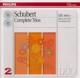 SCHUBERT - Grumiaux Trio - Trio à cordes n°2 en si bémol majeur D.581