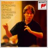 STRAVINSKY - Salonen - Petrouchka, ballet burlesque pour orchestre en 4