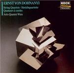 DOHNANYI - Artis Quartet - Quatuor à cordes n°1 op.7