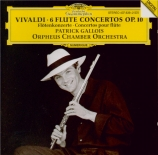 VIVALDI - Gallois - Concerto pour flûte, cordes et b.c. en sol mineur op