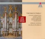 La famille Bach (Oeuvres pour orgue)