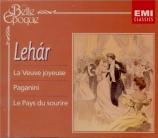 L'opérette viennoise chantée en français