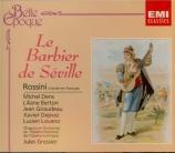 ROSSINI - Gressier - Il barbiere di Siviglia (Le barbier de Séville) chanté en français