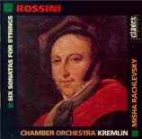 ROSSINI - Rachlevsky - Six sonates pour cordes