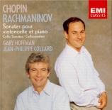 CHOPIN - Hoffman - Sonate pour violoncelle et piano en sol mineur op.65