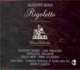 VERDI - Questa - Rigoletto, opéra en trois actes (RAI Torino 1953) RAI Torino 1953