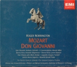 MOZART - Norrington - Don Giovanni (Don Juan), dramma giocoso en deux ac
