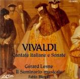 Cantate italiane e sonata