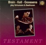 SCHUMANN - Brain - Adagio et allegro en la bémol majeur op.70 : version
