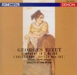 BIZET - Krivine - Symphonie pour orchestre en ut majeur (1855) WD.33 import Japon