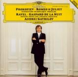 PROKOFIEV - Gavrilov - Roméo et Juliette, dix arrangements pour piano d'