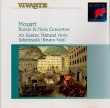 Rondo & Horn Concertos
