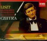 LISZT - Cziffra - Dix-neuf rhapsodies hongroises, pour piano S.244
