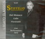 VERDI - De Fabritiis - Stiffelio, opéra en trois actes Live napoli 26 - 12 - 1972