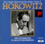 SCARLATTI - Horowitz - Sonate pour clavier en ré majeur K.33 L.424