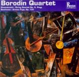 CHOSTAKOVITCH - Borodin Quartet - Quatuor à cordes n°8 op.110