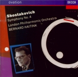 CHOSTAKOVITCH - Haitink - Symphonie n°4 op.43