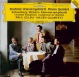 BRAHMS - Hagen Quartett - Quintette avec piano en fa mineur op.34