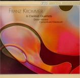 KROMMER - Consortium Clas - Quatuor pour clarinette op.21 n°1-2