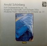 SCHOENBERG - Gielen - Fünf Orchesterstücke op.16